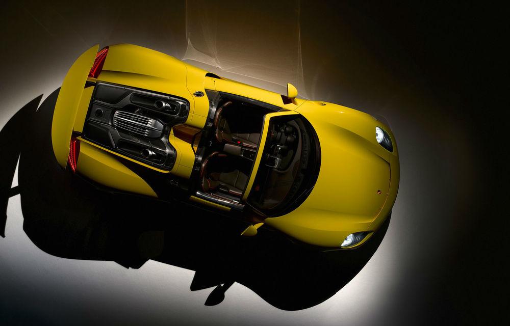 Porsche a umplut lista de comenzi a lui 918 Spyder şi confirmă succesorul acestuia - Poza 2