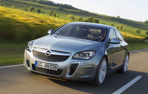 Opel Insignia OPC facelift (2013-2017)