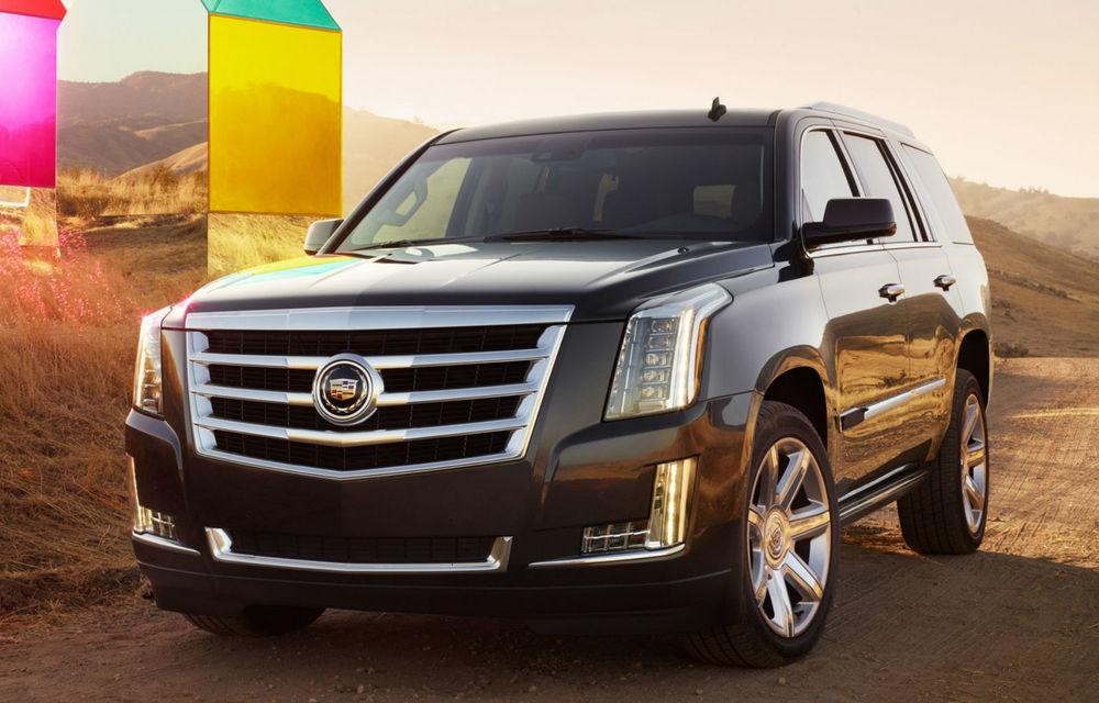 Cadillac Escalade a ajuns la a patra generaţie - Poza 2
