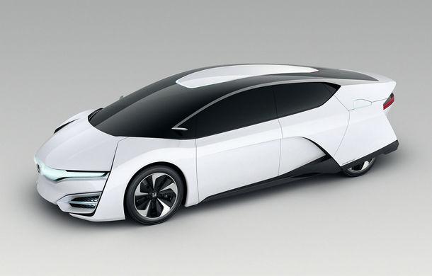Honda FCEV Concept prefaţează viitoarele vehicule cu hidrogen ale japonezilor - Poza 2