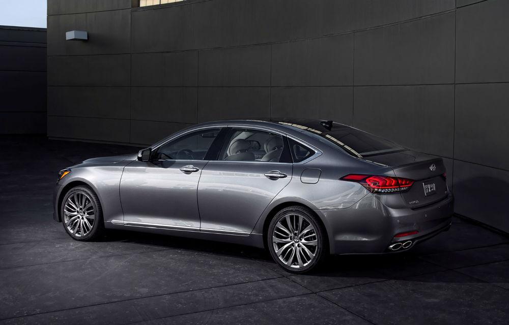 Hyundai Genesis Sedan a atins pragul de 100.000 de unități vândute în 18 luni - Poza 2