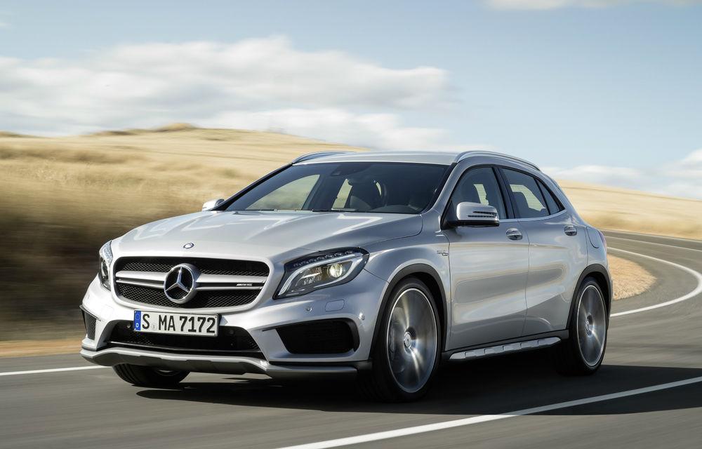 Mercedes-Benz GLA45 AMG - noul SUV compact de performanţă lărgeşte familia AMG - Poza 2