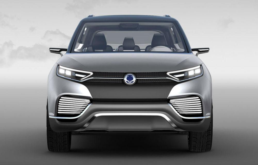 Ssangyong XLV Concept ne arată direcţia de design pentru marca coreeană - Poza 2