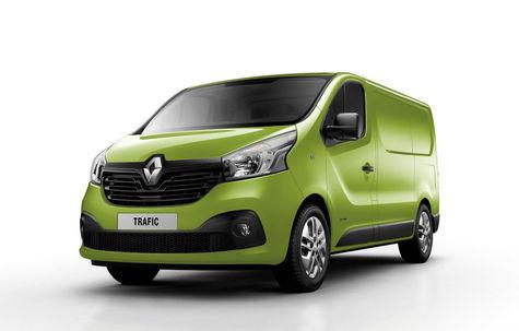 Renault Trafic Van (2014)