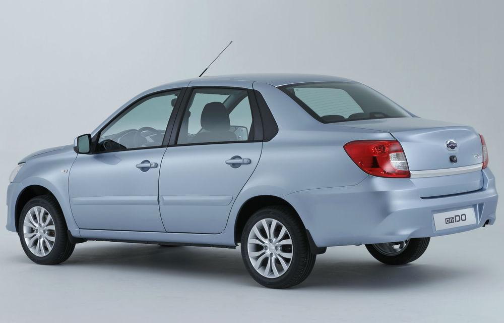 Prima generaţie a lui Dacia Logan renaşte în Rusia sub sigla Datsun - Poza 2