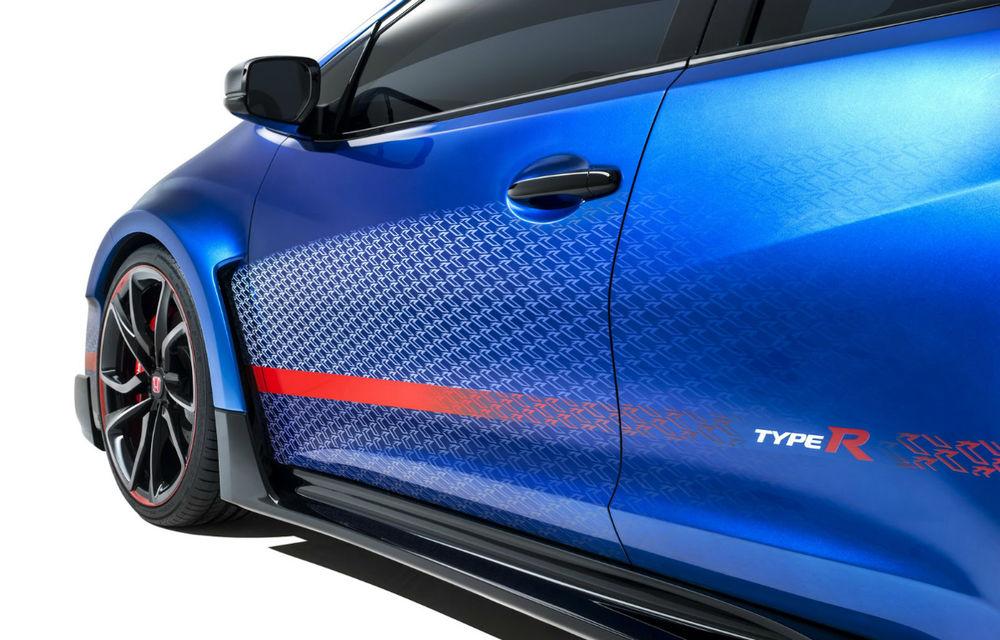 Honda a deschis listele de comenzi pentru Civic Type R în Regatul Unit deşi versiunea de serie nu a fost prezentată încă - Poza 2