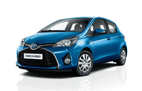 Toyota Yaris Hybrid facelift (2014-prezent)