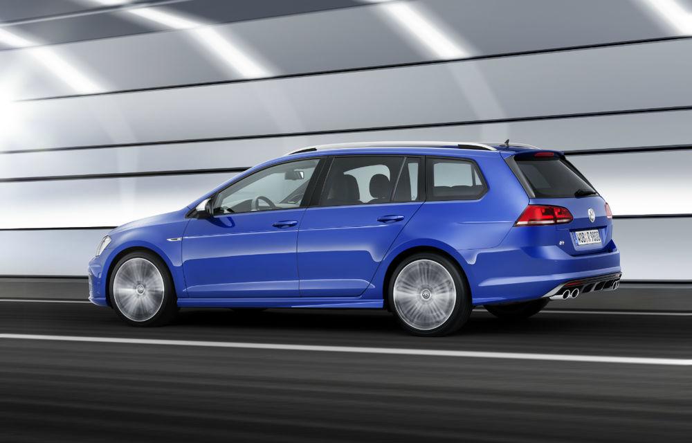 Volkswagen Golf R Variant devine cel mai puternic break compact din lume: motor 2.0 TSI de 300 CP - Poza 2