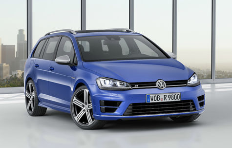 Volkswagen Golf Variant R (2014-2016)