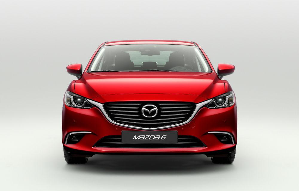 Mazda6 facelift: modelul nipon primeşte un retuş discret la doi ani de la debut - Poza 2
