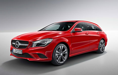 Mercedes-Benz CLA Shooting Brake (2013-2016)