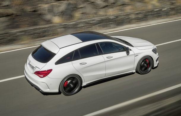 Mercedes-Benz CLA Shooting Brake este primul break compact al mărcii germane - Poza 2