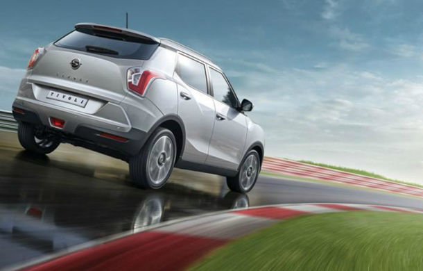 Ssangyong Tivoli - noi imagini şi informaţii cu viitorul rival al lui Nissan Juke - Poza 2