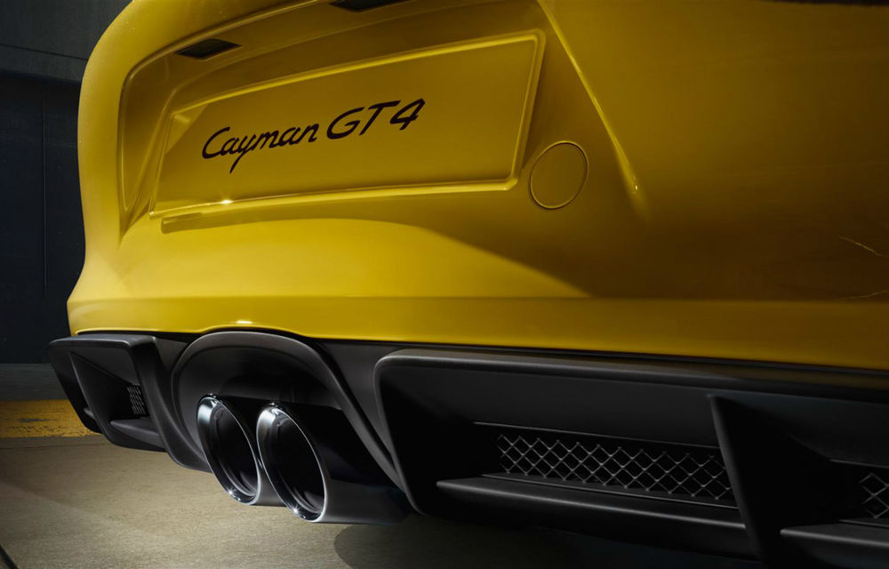 Porsche Cayman GT4: 385 CP pentru cea mai sportivă versiune a coupe-ului - Poza 2