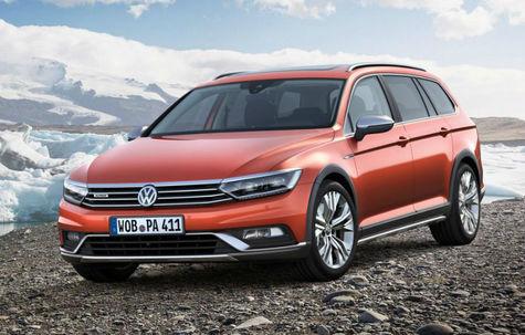 Volkswagen Passat Alltrack (2014-prezent)