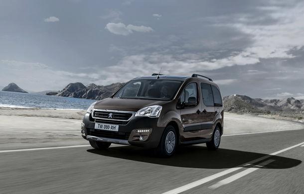 Peugeot Partner facelift debutează martie - Poza 2