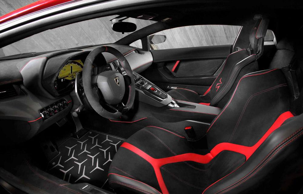Lamborghini Aventador SV: 750 CP şi 0-100 km/h în 2.8 secunde pentru cea mai rapidă versiune a modelului - Poza 3