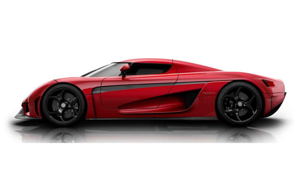 Koenigsegg Regera: 1.500 CP şi 0-400 km/h în 20 secunde - Poza 2