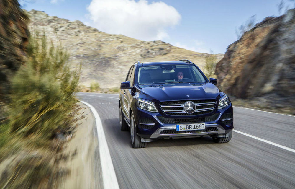 Mercedes-Benz ML primeşte un facelift şi e redenumit oficial: faceţi cunoştinţă cu noul Mercedes GLE - Poza 2
