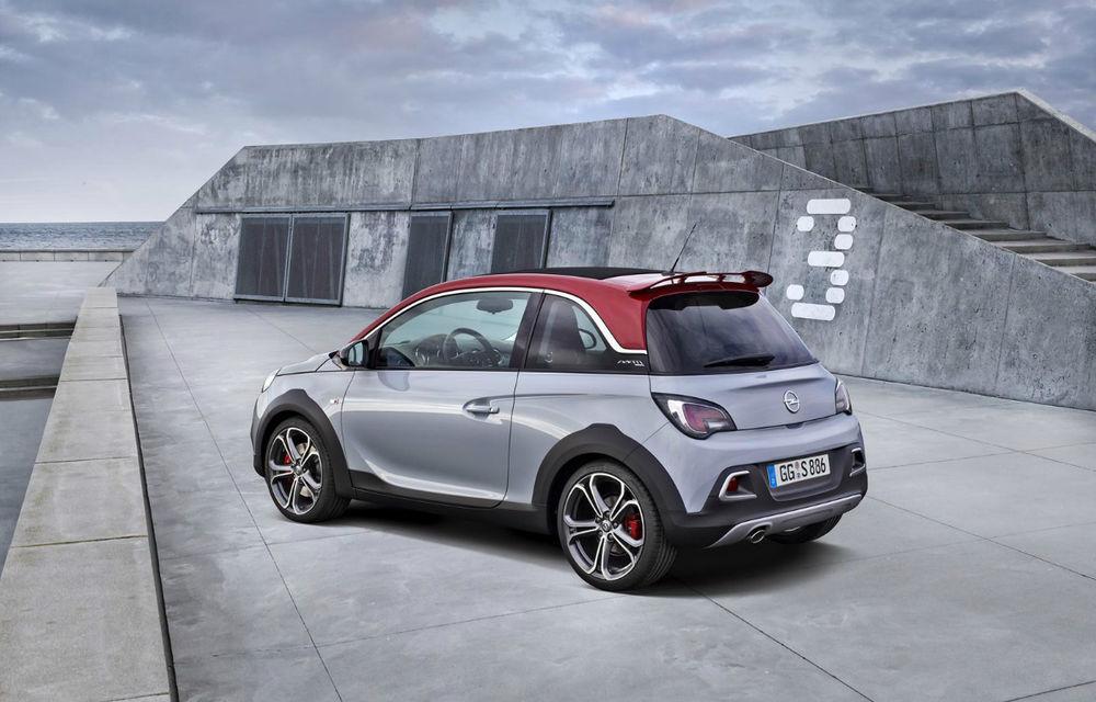 Opel Adam Rocks S: 150 CP pentru crossoverul german de clasă mini - Poza 2