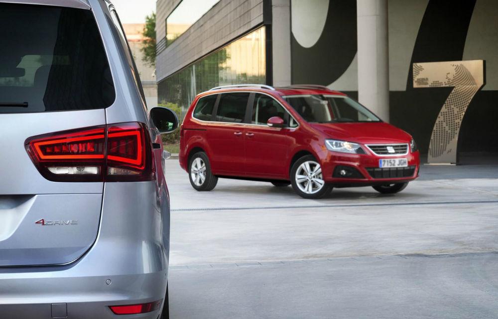 Seat Alhambra a primit un facelift subtil - Poza 2