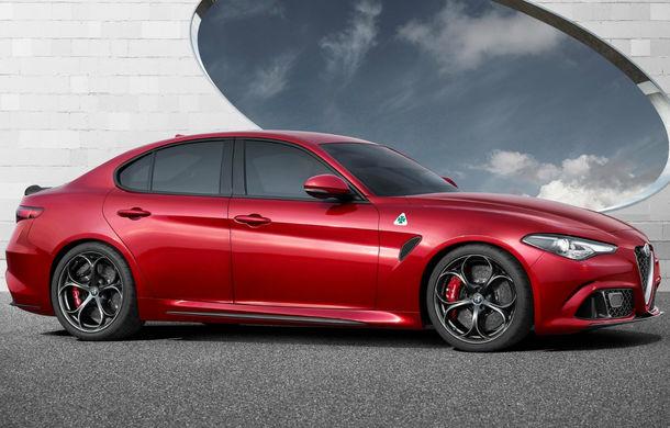 Alfa Romeo Giulia e aici. 510 CP și 0-100 km/h în 3.9 secunde pentru versiunea rivală cu BMW M3 - Poza 2