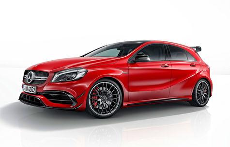Mercedes-Benz A 45 AMG facelift