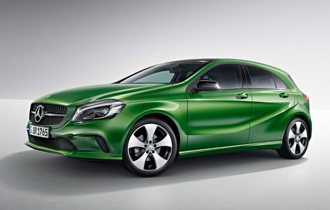Mercedes-Benz Clasa A facelift