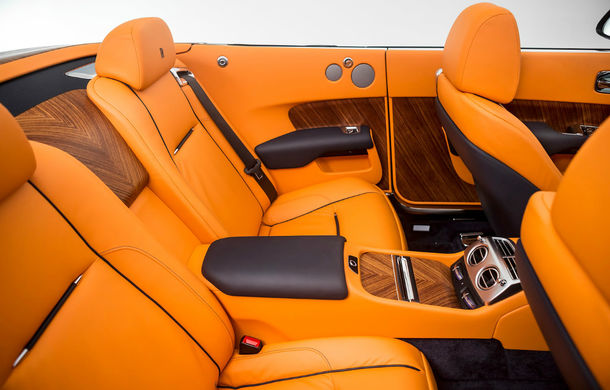 Rolls-Royce Dawn: imaginile și informațiile oficiale ale celui mai seducător model al englezilor - Poza 2