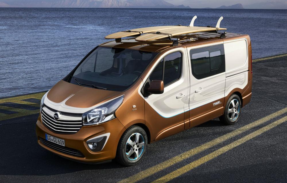 Opel Vivaro Surf Concept, un exercițiu dedicat celor îndrăgostiți de sport - Poza 2