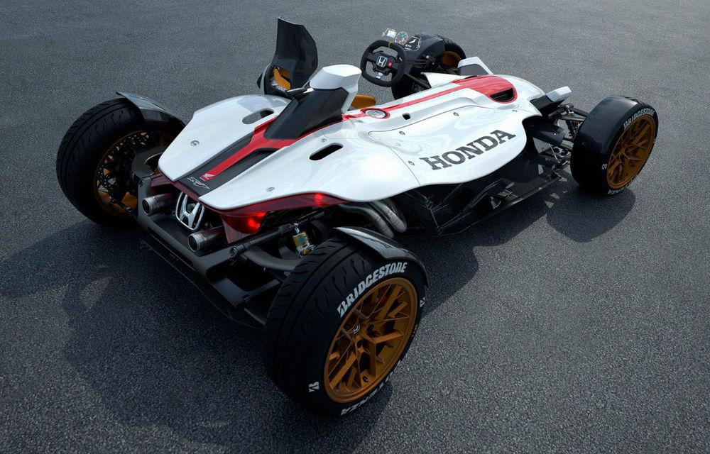 Honda prezintă conceptul unei mașini care promite senzația de libertate a unei motociclete - Poza 2