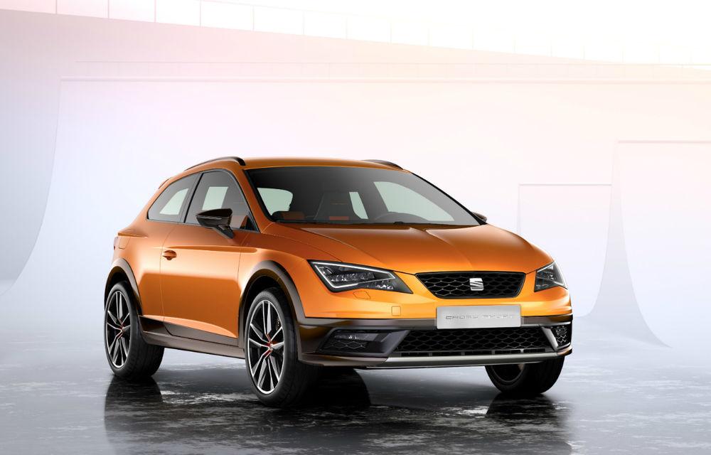 Seat Leon Cross Sport Concept prezintă ipoteza unui SUV coupe de clasă compactă - Poza 3