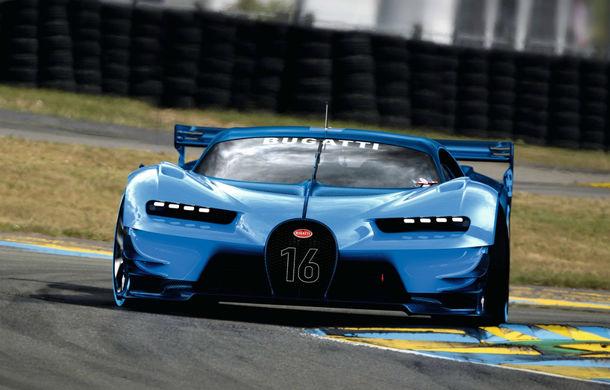 Bugatti Vision Gran Turismo, conceptul care ne arată design-ul urmașului lui Veyron (ACTUALIZARE) - Poza 9
