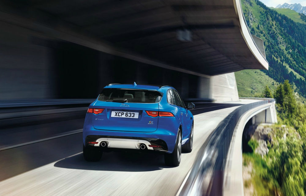 Jaguar F-Pace, primul SUV Jaguar, se prezintă în prima galerie foto oficială - Poza 2
