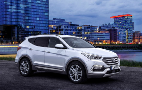 Hyundai Santa Fe facelift (2015-2018)