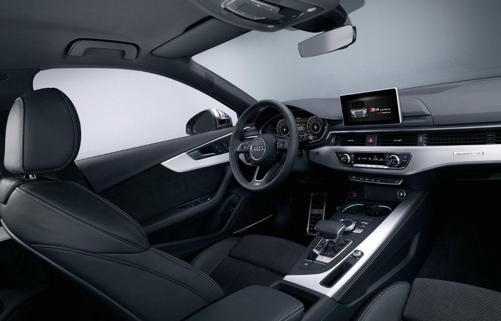 Audi S4 trece la o nouă generație: 354 de cai putere și 4.7 secunde pentru 0-100 km/h - Poza 2