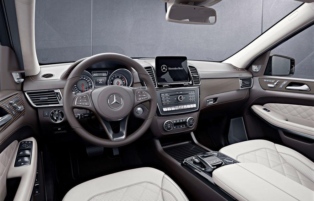 Mercedes-Benz GLS aduce o restilizare cu schimbare de nume pentru fostul GL - Poza 2