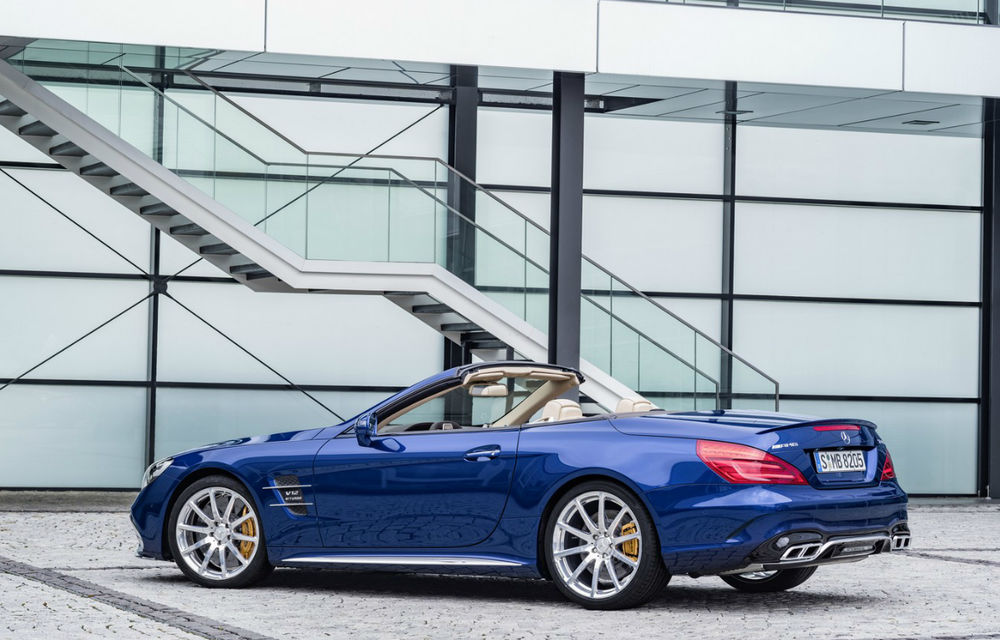 Mercedes-Benz SL facelift: o față nouă și cutie automată cu nouă trepte pentru roadsterul german - Poza 2
