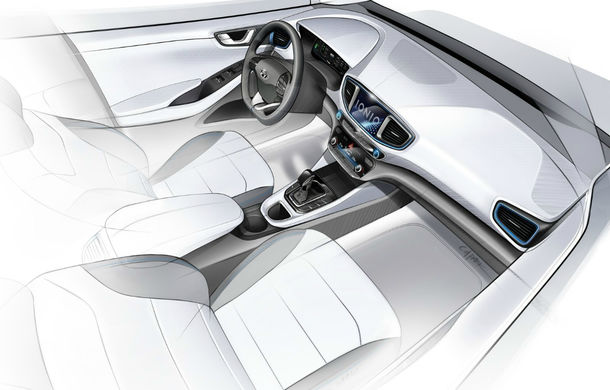 Hyundai Ioniq Electric facelift: modelul electric primește un motor de 136 CP și o baterie cu autonomie de aproape 300 de kilometri - Poza 2