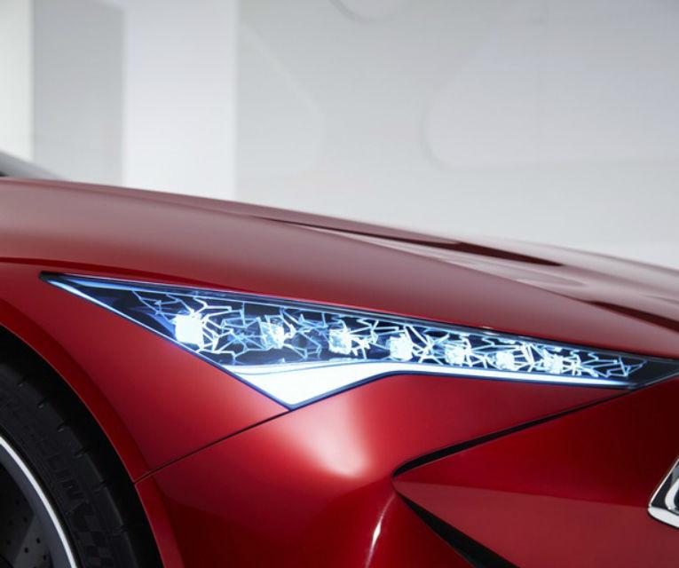 Se poartă designul tăios și futurist: Acura Precision Concept anunță valul schimbării estetice - Poza 2