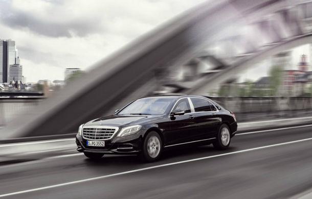 Mercedes a creat cea mai sigură limuzină blindată din lume: Maybach S600 Guard - Poza 2