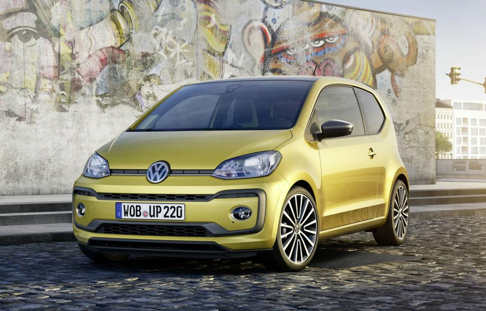 În așteptarea unui nou Golf, ne mulțumim și cu un Volkswagen Up facelift: motor nou, culori vii și tehnologie - Poza 2