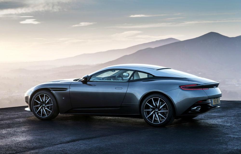 UPDATE FOTO, INFO: God Save the Queen! Noul Aston Martin DB11 readuce marca britanică în zona sportivelor senzuale - Poza 2