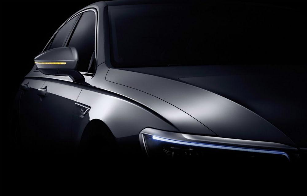 Volkswagen Phideon este fratele mai mare al lui Passat. Din păcate, știe doar limba chineză - Poza 2