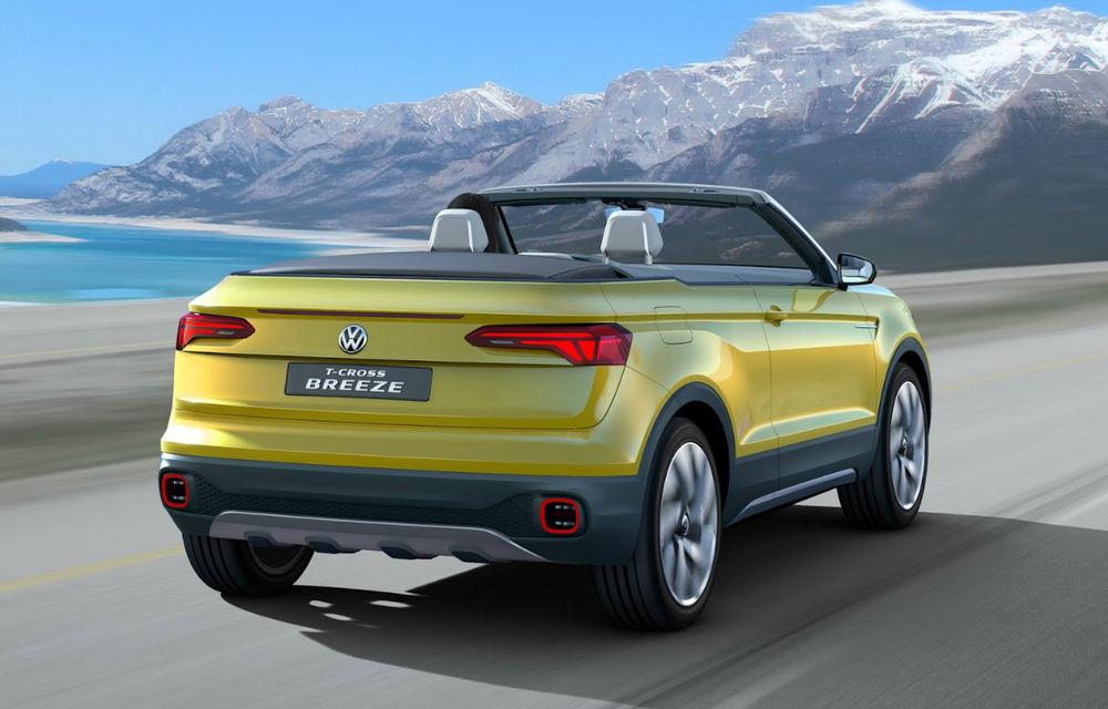 Mai bine mai târziu decât niciodată: Volkswagen pregătește un SUV urban, anunțat de conceptul T-Cross Breeze - Poza 2