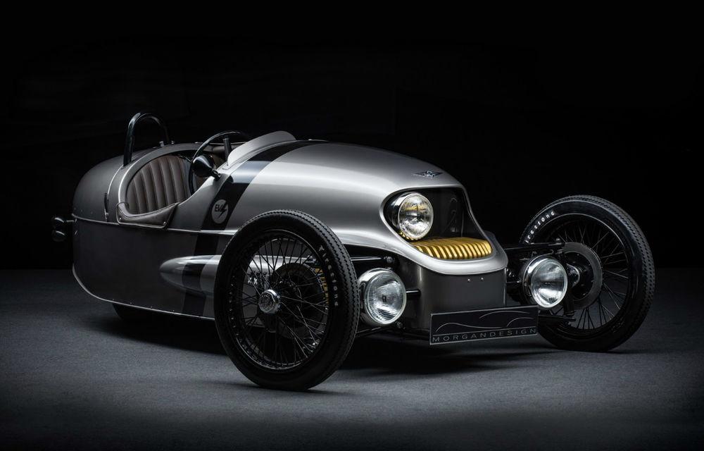 Morgan EV3 este cea mai nonconformistă electrică din lume: trei roți, design retro, autonomie 240 de kilometri - Poza 2