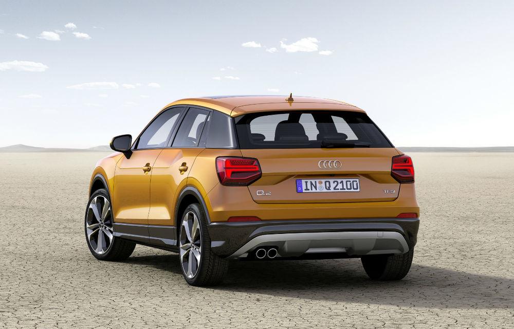 Audi Q2 devine cel mai mic SUV din gama mărcii germane: dedicat tinerilor din orașe - Poza 2