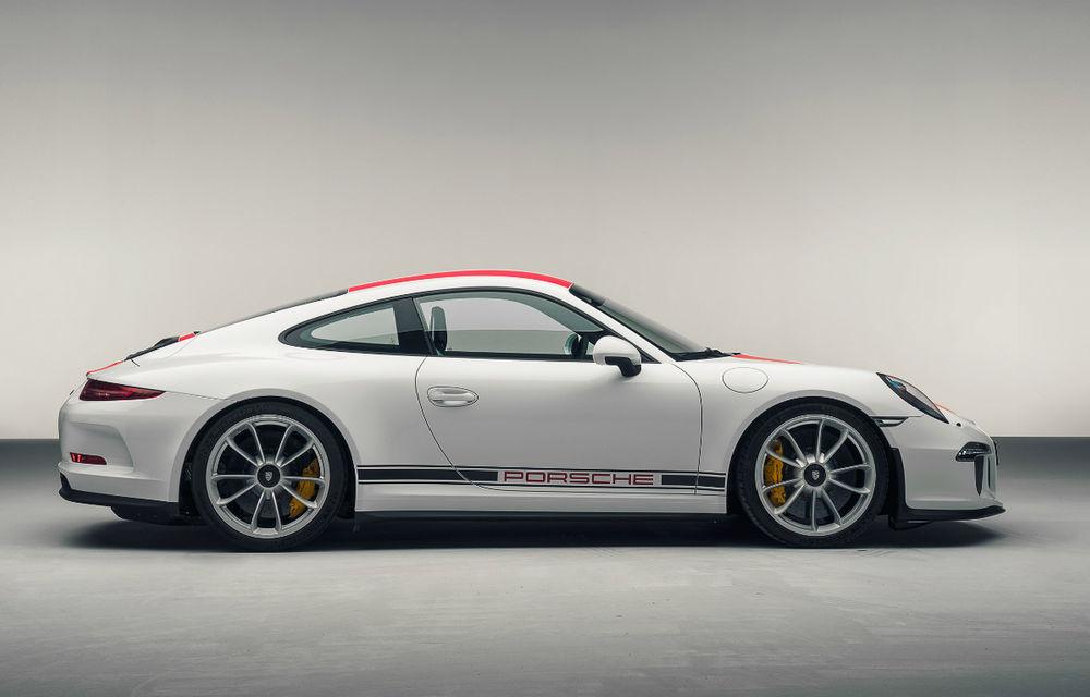 Reîntoarcere la origini: Porsche 911 R primește 500 de cai, o cutie manuală și performanțe de vârf - Poza 2