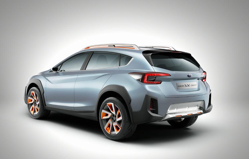 Între premium și accesibile: Subaru XV Concept anunță un nou SUV compact - Poza 2