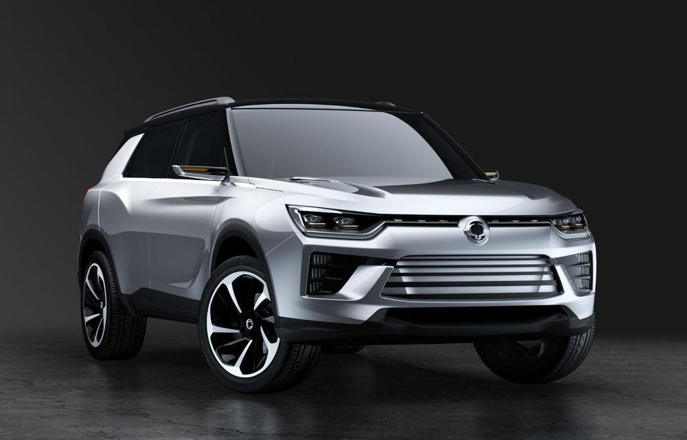 Amenință Ssangyong segmentul SUV compact? Conceptul SIV-2 anunță înlocuitorul lui Korando - Poza 2